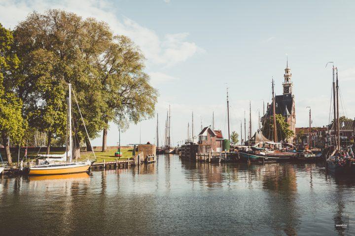 Harbor town Hoorn