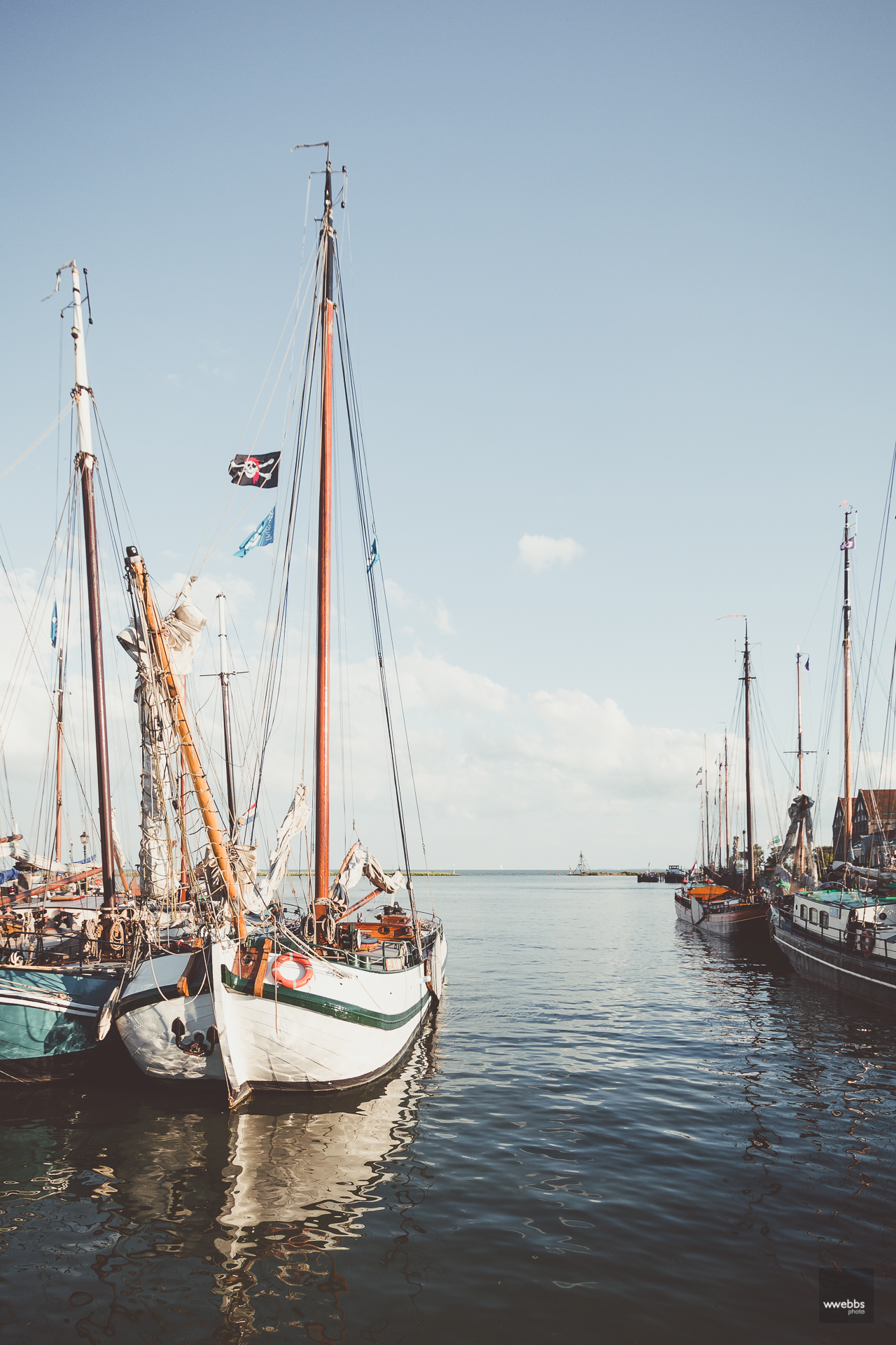 Harbor town Hoorn