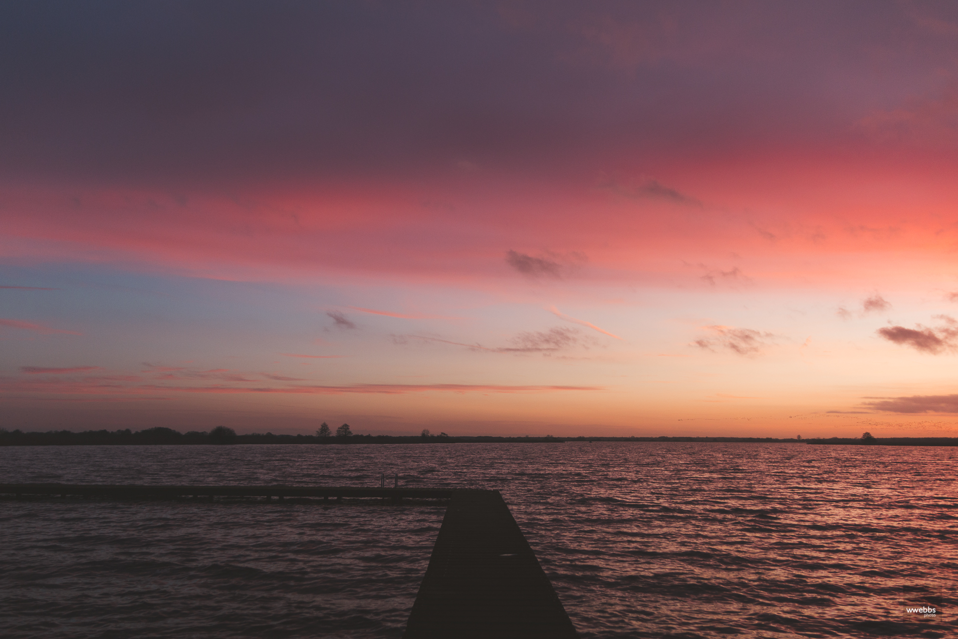 Jetty sunset