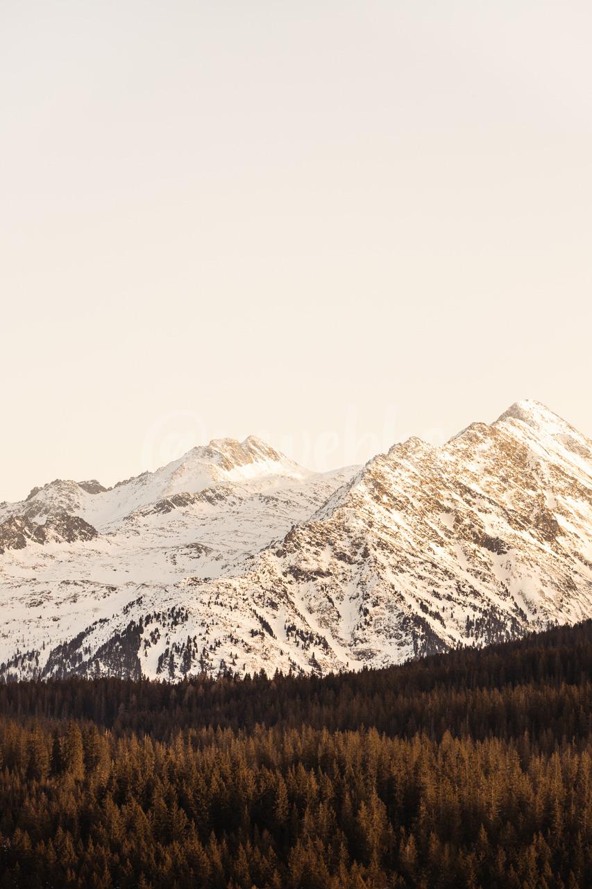 Evening Alps
